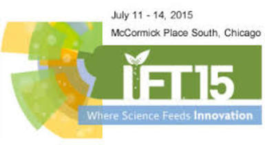EDERNA exhibited at the IFT15 show in Chicago (IL, USA), July 12-14