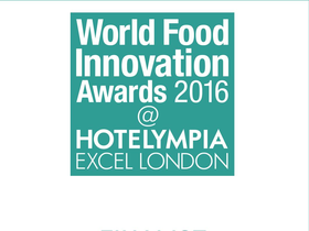 EDERNA finalist for the World Food Innovation Awards 2016